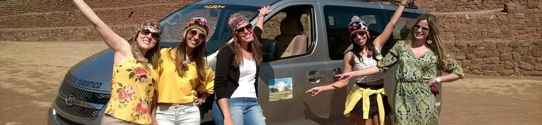 Grupo Andean Hiking EIRL en la portada de Rumicolca